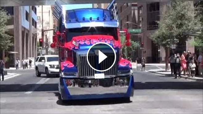 Optimus Prime Quot Custom Western Star 4900x Quot On The Road