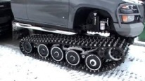The Way This Guy Builds Tracks Is Awesome!! All-Terrain Amphibious Truck With Custom Extreme Hagglunds!