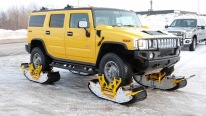 Say GOODBYE TO SNOW PROBLEMS With The TRACK N GO WHEEL-DRIVEN TRACK SYSTEM