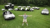 Meet The DeLorean Collector With A Monster Truck, Limo, Hovercraft and a Time Machine Replica