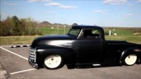 "STUNNING 1947 Chopped Chevy 3100 Pickup ""Peacemaker"""