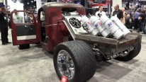Insane!! Cummins Rat Rod with SIX Bottles of Nitrous and BIG TURBOS