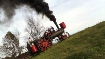 INCREDIBLE! Hill climbing with a Minneapolis steam traction engine