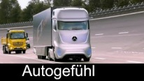 The Truck Drives Itself! Mercedes-Benz Future Truck 2025 Premier