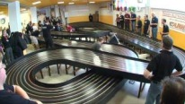 This Slot Car Race is INSANE!