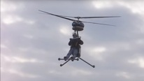 World's Smallest One-Man Helicopter
