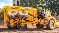 Crazy Show of Dumpers & Excavators by Volvo