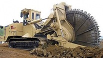 That is One Badass Machine! Rock Cutter Machine By Tesmec