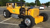 Pretty COOL Caterpillar Hot Rod At Cruisin The Coast 2015
