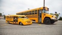 Hot Rod School Bus! That Is Too COOL For School
