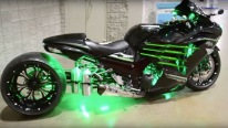 "That Is Wicked! Custom Kawasaki ZX14-R ""War Admiral"""