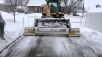 Awesome JFB Snow Blower Truck with Extensible Scrapes Quebec