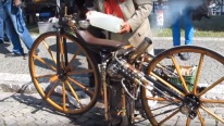 ROPER 1869 - The FIRST Steam-powered Motorcycle in the World