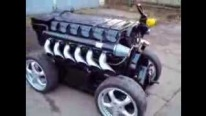 Badass V12 Deutz Diesel Direct Injection Engine