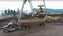 Logs to Lumber - Amazing Aerial Journey Through the Sawmill
