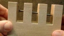 How to Make the Impossible Nail Through Wood Trick!