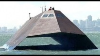 "SUPER FAST & UNDETECTABLE ! The U.S. Navy Experimental Stealth Ship ""Sea Shadow"""