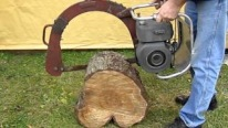 1946 Canadian-Made Awesome Precision Bow Chainsaw