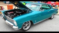 "1966 Chevy II Nova SS ""Barn Find"" At The NSRA Street Rod Nationals 2015"