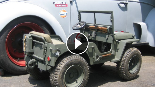 The Coolest Mini Willys Jeep Ever 1 3 Scale Replica