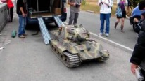 1/4 Scale Baby King Tiger Tank