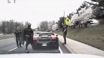 Incredible Traffic Stop With Batman-Life is Like a Comedy Movie in U.S