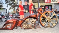 Daytona Bike Week 2016 - Battle of the Baggers