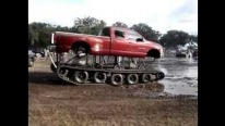 Badass Redneck Car With Track Buggy