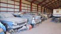 200 Classic Cars For Auction In A Warehouse Nebraska