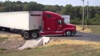 Truck Driver can't back at JCI Pulaski