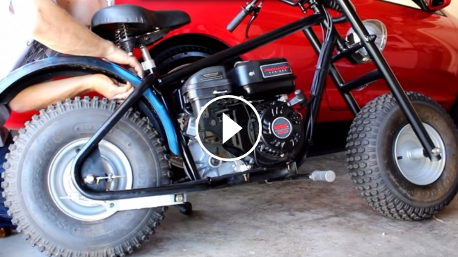 Subaru Build Your Own >> Make Your Own Bike: CUSTOM BAJA MINI BIKE PROJECT 212cc