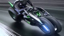 "Kawasaki 3-Wheel Electric Vehicle ""J"" Concept"