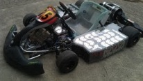 Pretty Bad Ass!!!! Electric Go Kart Goes Wild 128HP