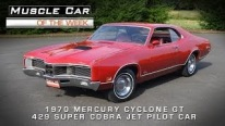 1970 Mercury Cyclone GT 429 Super Cobra Jet Pilot Car