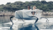 A Boat From The Future - Quadrofoil Hydrofoil Electric Watercraft Q2