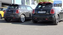 2015 MINI JCW vs. Cooper S Tuning KIT - SOUND battle