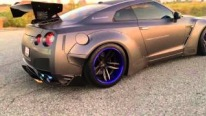 Beasty GT-R R35 Equipped Armytrix Performance Exhaust