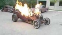 1919 Willys T Rat Rod Flames
