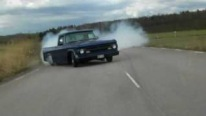 1970 Dodge D100 440 Burnout