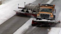 Meet The New Weapon Against Snow Covered Highways - TowPlow Action