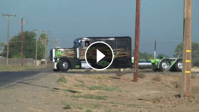 "Image result for Sick Custom Peterbilt Truck ""COWBOY Limousine"""