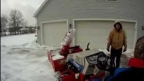 Wicked Turbo-Diesel Snow Blower Machine