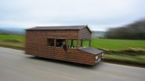 The Fastest Shed in the World! Road-Legal Drivable Shed
