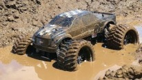 Monster Truck 4x4 Mudding - Chocolate Earth Milk & a Slice of Mud Pie