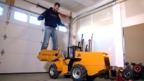 500lb Hydraulic RC Wheel Loader Lifts Me - 24v Electric Power