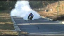 Suzuki - Best Motorcycle Burnout To Date
