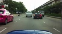 Mini Cooper vs Subaru WRX Sti - Crazy Street Race
