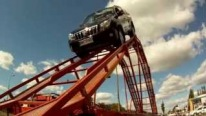 Toyota Landcruiser 150 in Rollercoaster