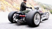 Craziest Motorcycle Trike You'll Ever See - Street Legal