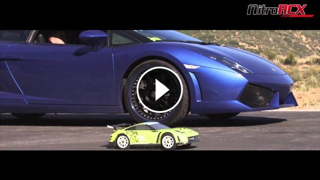 RC Car VS Lamborghini Gallardo - Which one is faster?